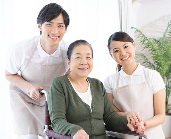 ★介護業務ナシ!生活援助のお仕事☆(^∇^ )サービス付き高齢者住宅・介護職[5556]