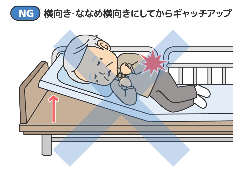 ポジショニング 褥瘡